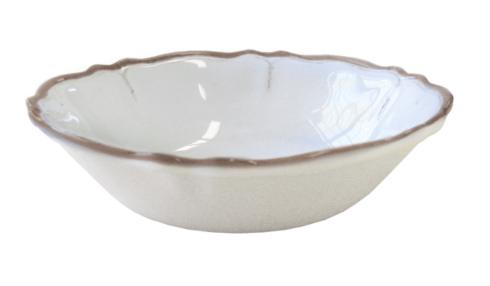 $16.00 Rustiqua Antiqua White Cereal Bowl