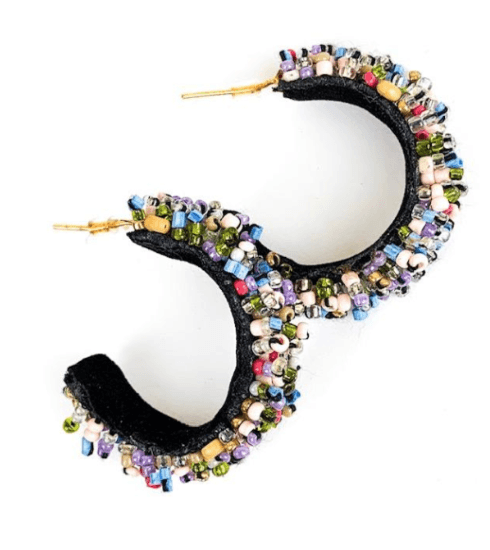 $48.00 Raleigh Hoop Earrings