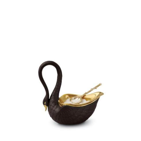 $150.00 Black Swan Salt Cellar