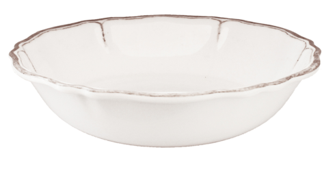 Rustiqua Antiqua White Salad Bowl  collection with 1 products