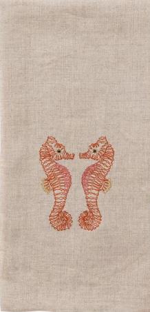 $42.00 Seahorse Love Tea Towel