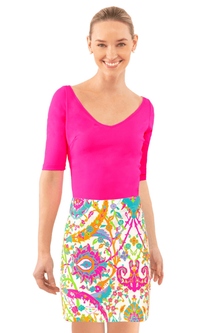 $129.00 Skippy Skort in Magic Carpet M