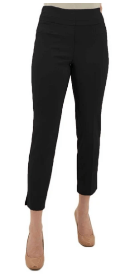$70.00 Black Cigarette Leg Pant 12