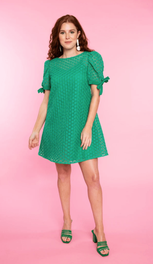 $224.00 Faith Dress in Clover XS