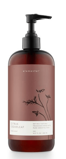 Elemental Hand Wash Citrus Cedarleaf collection with 1 products