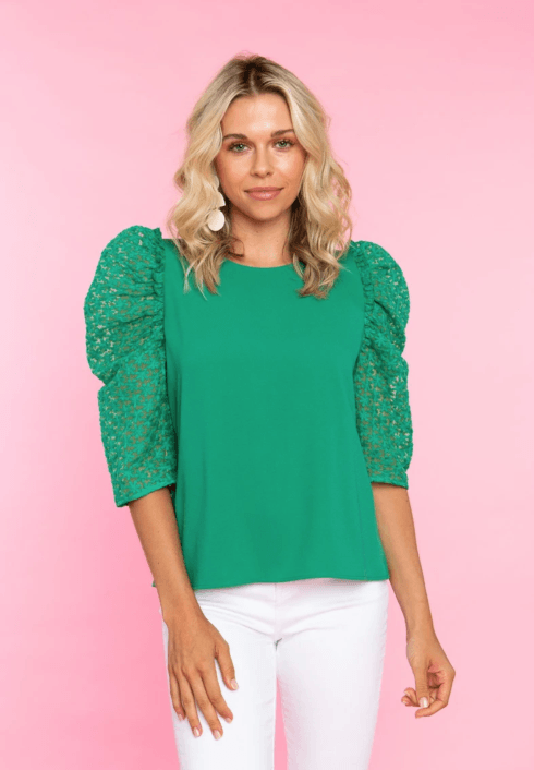 $79.00 Clover, Lurie Top, XL