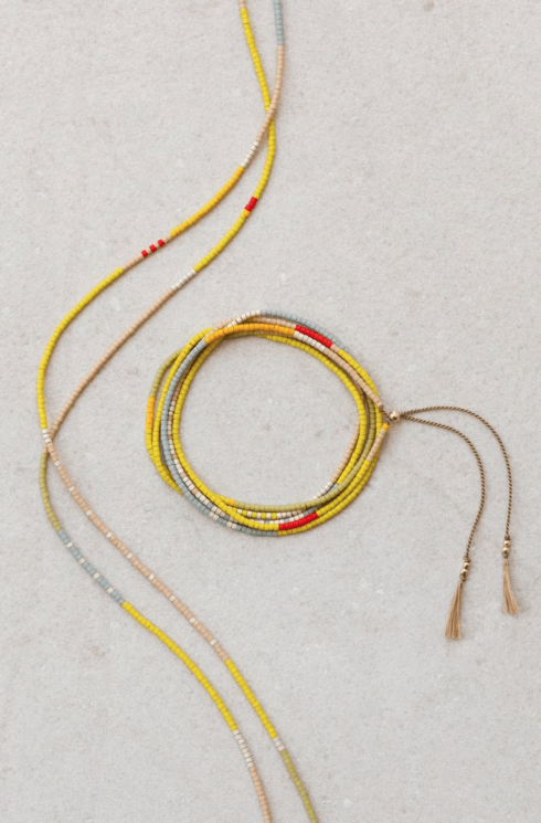 $90.00 Simi Wrap Necklace/Bracelet - Horizon
