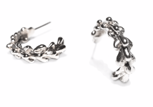 Willow Hoop Earrings - Silver collection with 1 products
