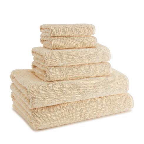 $20.00 Cobblestone Hand Towel Blonde Yellow