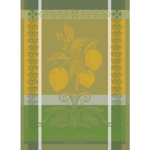 Garnier-Thiebaut  Kitchen Towels Citron Zeste Kitchen Towel $24.50