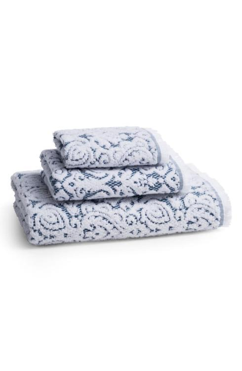 Kassatex   Dalia Bath Towel Indigo Blue $34.00