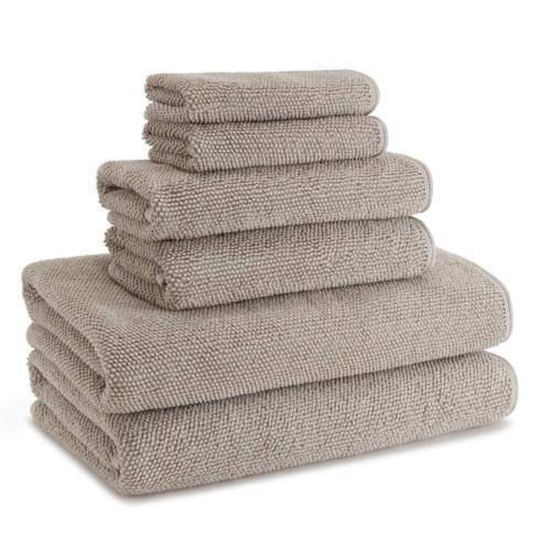Kassatex   Cobblestone Hand Towel Dolphin Grey $20.00