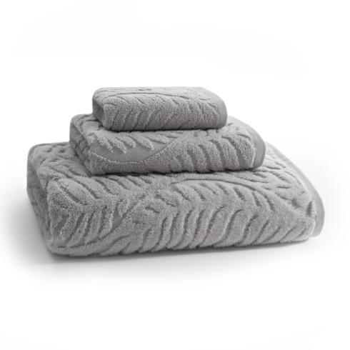 $20.00 Palma Hand Towel Fog Grey