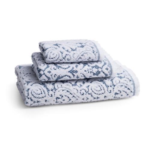 $34.00 Dalia Bath Towel Indigo