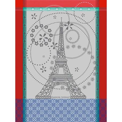 Garnier-Thiebaut  Kitchen Towels Tour Eiffel Kitchen Towel $24.50