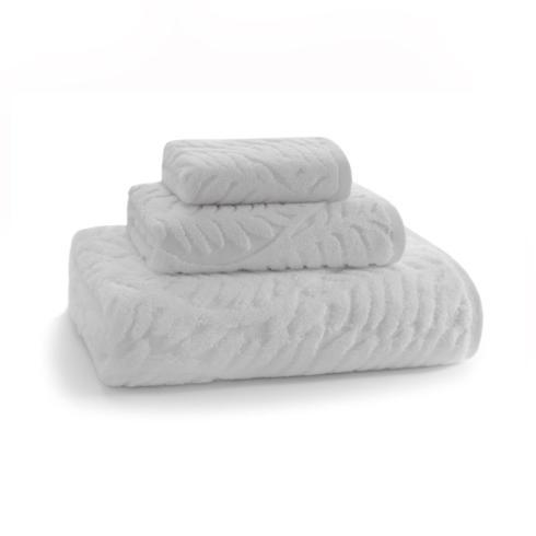 Kassatex   Palma Hand Towel White $20.00
