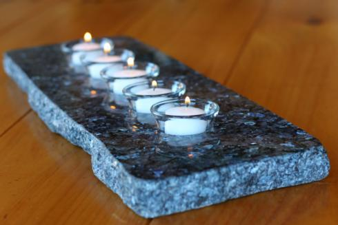3 Hole Candle Slab