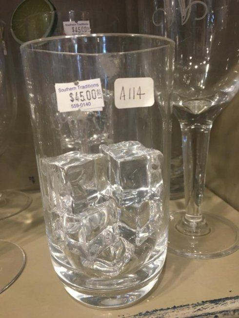 Southern Traditions Exclusives   Set of 4 Acrylic glasses $45.00