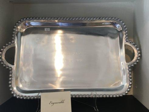 Southern Traditions Exclusives   Pewter tray with handles $0.00