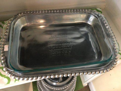 Southern Traditions Exclusives   Large pewter casserole $65.00