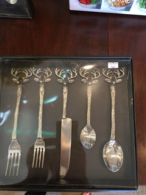 Southern Traditions Exclusives   Moose flatware $65.00