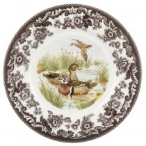 Salad Plate Wood Duck