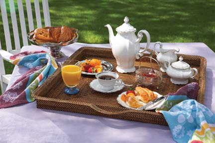 $168.00 Square Handled Tray