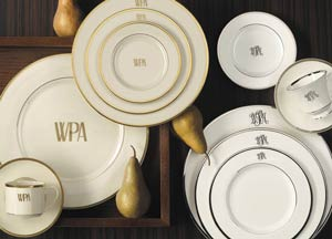 Platinum No Mono Dinner Plate