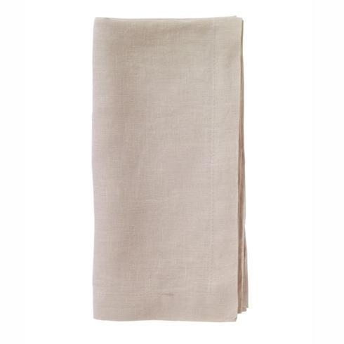 Bodrum   Riviera Linen Napkin - Tan - Set of 4 $81.50