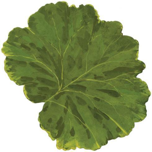 Caspari   Leaf Die-cut placemats set 4 $43.50