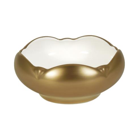 Pickard Signature   Metropolitan Gold Tulip Bowl $150.00