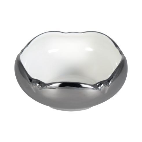 $125.00 Metropolitan Platinum Tulip Bowl
