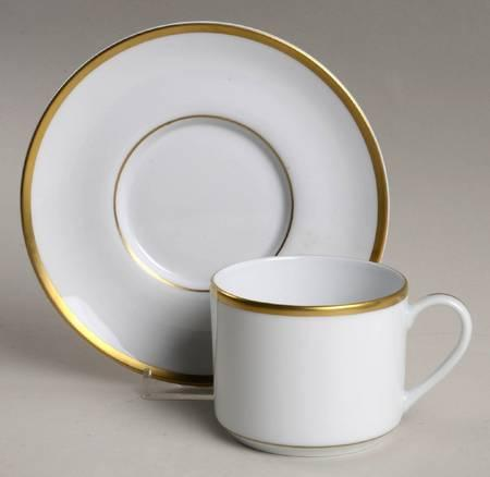 Signature Gold - Cup and Saucer - Plain collection with 1 products