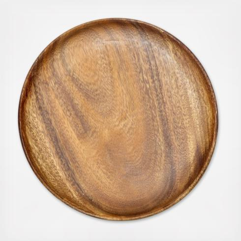 Round Wood Charger collection with 1 products