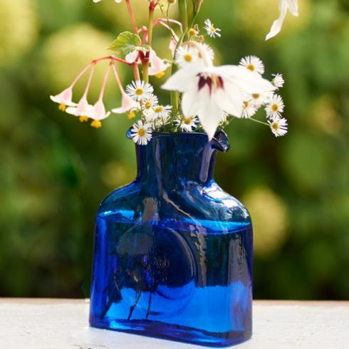 $45.00 Blenko Glass Mini - Cobalt