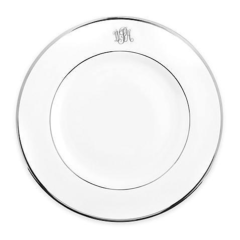 $60.00 Signature Platinum - Dinner Plate - White