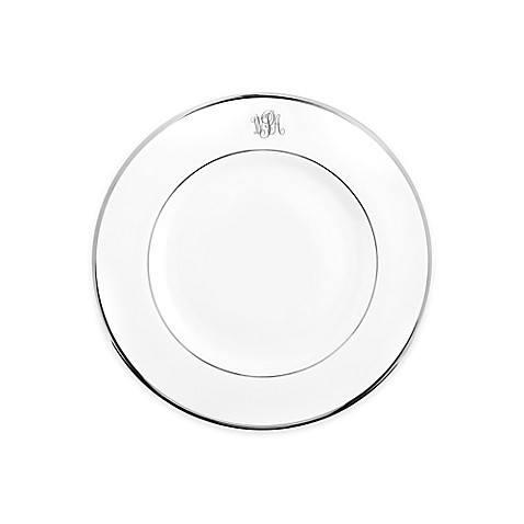 $39.00 Signature Platinum - Salad Plate - White