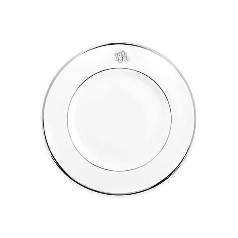 $39.00 Signature Platinum - Salad Plate - White