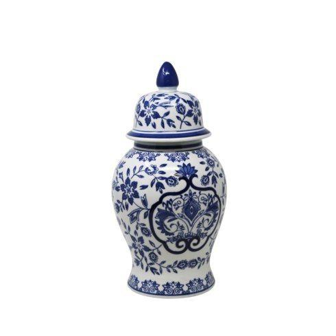 Timothy De Clue   Small Ceramic Temple Jar $59.95