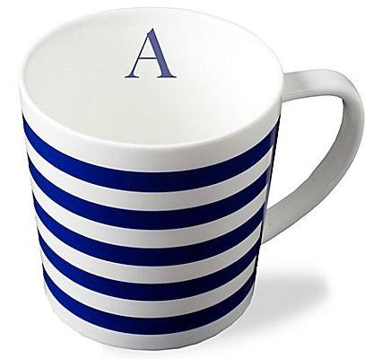 Timothy De Clue   Beach Towel Stripe Wide Mug Monogrammed   $25.00