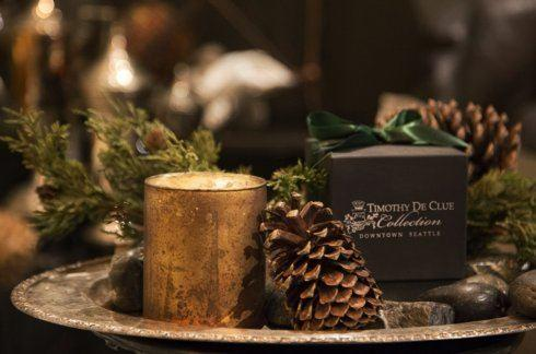 "$48.00 ""Forêt"" Bespoke Scented Candle By Timothy De Clue"