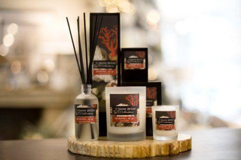"""$34.00 """"Marine"""" Scented Candle By Timothy De Clue"""