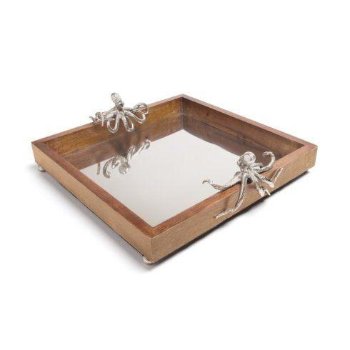 Timothy De Clue   Octopus Wooden Tray $149.95