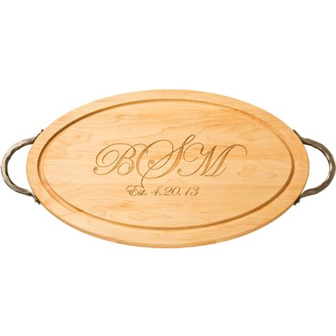 $161.00 Oval Board 18x12