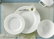 Split P   Placemat - Houndstooth Blue/Green $6.00