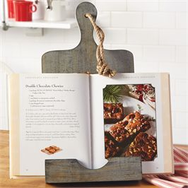Mudpie   Cookbook Stand Rustic $34.50