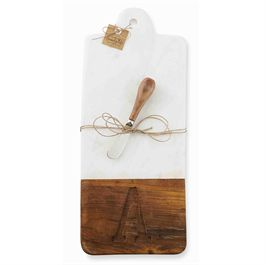 Mudpie   Cutting Board w/Initial $34.50