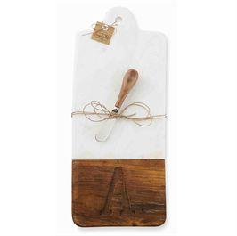 $34.50 Cutting Board w/Initial