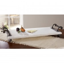 Mudpie   Mable Serving Board/ twisted handles $54.00