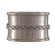 Split P   Napkin Ring - Twisted Wire $6.00
